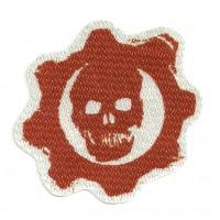 Textile patch GEARS OF WARS 7,5cm x 7cm