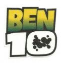 Textile patche BEN 10 8cm x 8cm