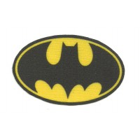 Textile patch BATMAN 7cm x 4,5cm
