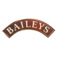 Parche textil BAILEYS 10cm x 4cm