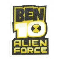 Parche textil BEN 10 ALIEN FORCE 6cm x 8cm