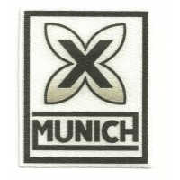Textile patch MUNICH 6cm x 7,5cm