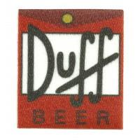 Parche textil DUFF 5,5cm x 6cm