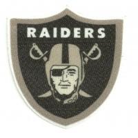 Parche textil RAIDERS 7,5cm x 7,5cm