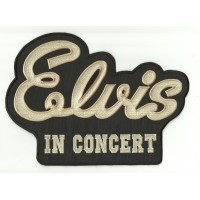 embroidery patch ELVIS IN CONCERT 26cm x 19cm