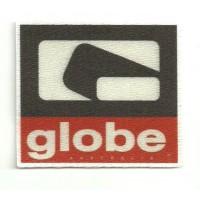 Textile patch GLOBE 6,5cm x 6,5cm