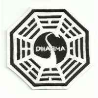 embroidery patch DHARMA CISNE 7cm