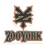 Textile patch ZOOYORK 6,5cm x 6cm