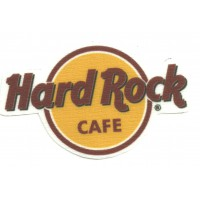 Parche textil HARD ROCK CAFE 9,5cm x 6cm