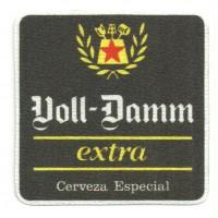 Textile patch VOLL DAMM EXTRA 8cm x 8cm