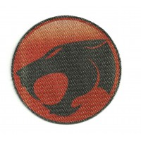 Parche textil THUNDERCATS 7,5CM X 7,5CM