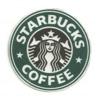 Parche textil STARBUCKS COFFEE 7,5cm x 7,5cm