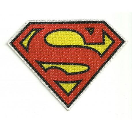 Parche textil SUPERMAN 11cm x 8,5cm