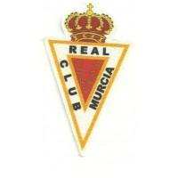 Parche textil REAL CLUB MURCIA 5cm x 9cm