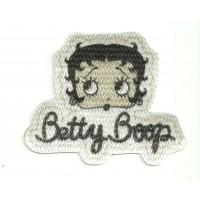 Textile patch BETTY BOOP CABEZA 8,5CM X 7CM
