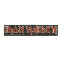 Parche textil IRON MAIDEN 9,5cm x 2cm
