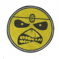 Textile patch IRON MAIDEN LOGO 7,5cm x 7,5cm