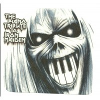 33 Textile patch EDDIE IRON MAIDEN 10cm x 9cm