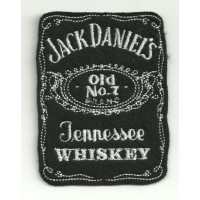embroidery patch JACK DANIELS 7cm x 9cm