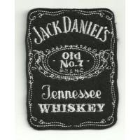 Parche bordado JACK DANIELS 7cm x 9cm