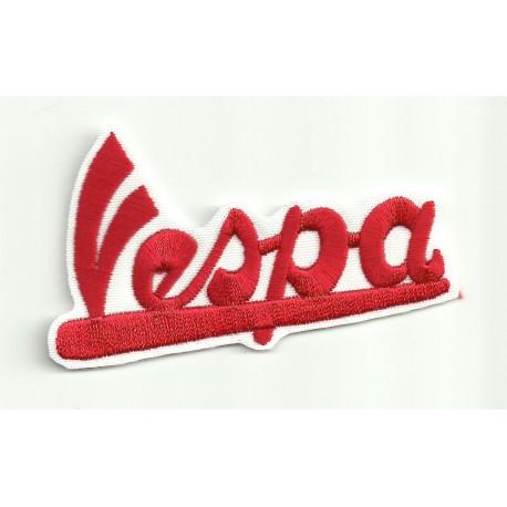 Patch embroidery VESPA ROJO 16cm x 10cm