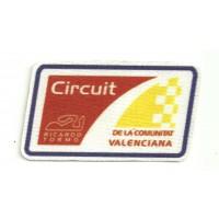 Textile patch CIRCUIT DE LA COMUNITAT VALENCIANA 8cm x 4,5cm