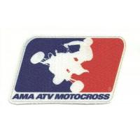 Textile patch AMA ATV MOTOCROSS 9cm x 5,5cm