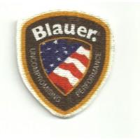 Patch textile BLAUER 3,8cm x 3,5cm