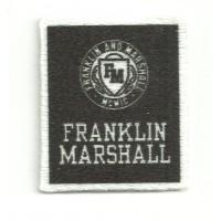 Parche textil FRANKLIN MARSHALL 3,5cm x 4cm
