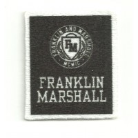 Textile patch FRANKLIN MARSHALL 3,5cm x 4cm