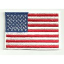 Patch embroidery FLAG USA 7cm x 5cm