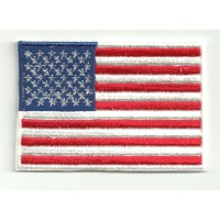 Patch embroidery FLAG USA 4cm x 3cm