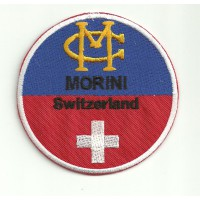Embroidery patch MORINI SWITZERLAND 8CM