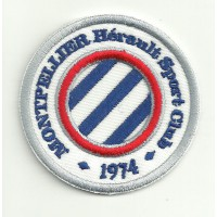 Embroidery patch MONTPELLIER CLUB 1974 6cm