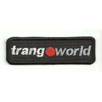 Parche bordado TRANGOWORLD 8,5cm x 2,5cm