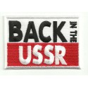 Parche bordado BACK IN THE USSR BEATLES 8cm x 4,5cm
