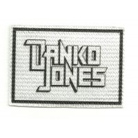 Textile patch DANKO JONES 8cm x 5,5cm