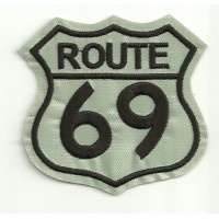 Embroidery Patch ROUTE 69 G. 7cm x 7cm