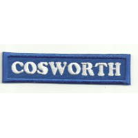 Patch embroidery COSWORTH 9cm x 2cm