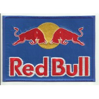 Parche bordado RED BULL 25cm x 17,5cm
