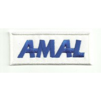 Patch embroidery AMAL 8.5cm x 3,5cm