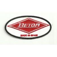 Patch embroidery BETOR 8.5cm x 4.5cm