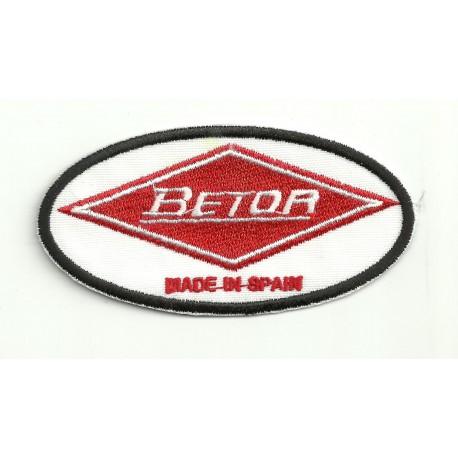 Parche bordado BETOR 8.5cm x 4.5cm