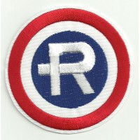 Patch embroidery REPSOL ANTIGUO 8cm