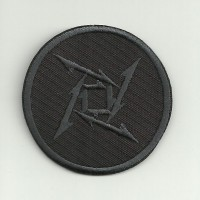 embroidery patch METALLICA LOGO BLACK 5.5cm