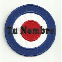 Patch embroidery TU NOMBRE DIANA MOD 7.5cm