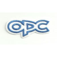 Parche bordado OPC OPEL PERFORMANCE CENTER 5.5cm x 2.5cm