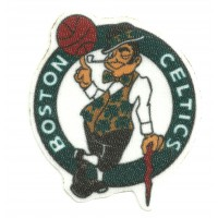 Parche textil BOSTON CELTICS 8cm x 7,3cm