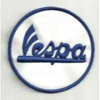 Parche bordado VESPA 3,5cm x 3.5cm
