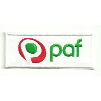 embroidery patch PAF 8,5cm x 3,5cm
